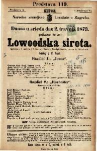Lowoodska sirota Igrokaz u 2 razdiela i 4 čina / od Charlottw Birchpfeiferove