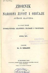 Knj. 14. (1909) : Zbornik za narodni život i običaje