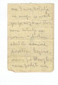 Matoševa ceduljica, pisana na bolesničkoj postelji