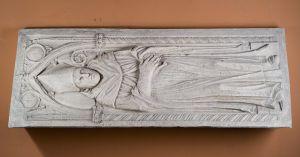 Grobna ploča biskupa Šišgorića u katedrali sv. Jakova, Šibenik