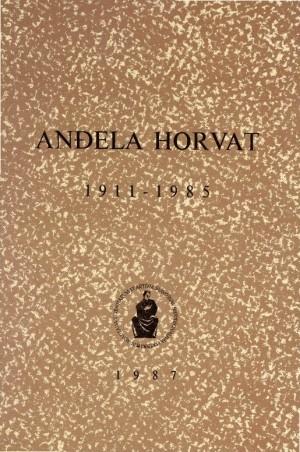 Anđela Horvat : 1911-1985 : Spomenica preminulim akademicima