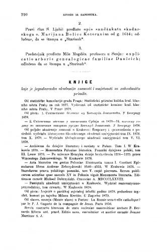 Knjige : koje je Jugoslavenska akademija znanosti i umjetnosti sa zahvalnošću primila ; koje je Jugoslavenska akademija znanosti i umjetnosti sa zahvalnošću primila : RAD