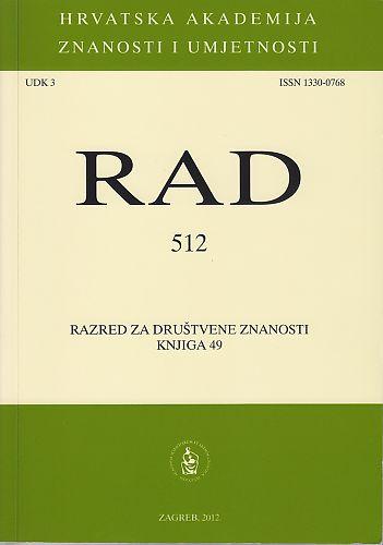 Knj. 49(2012) : RAD
