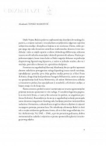 [Riječ na komemoraciji u palači Hrvatske akademije znanosti i umjetnosti 16. veljače 1994.]