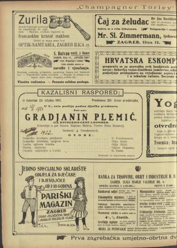 Gradjanin plemić Komedija u pet činova  =  Le bourgeois gentilhommes
