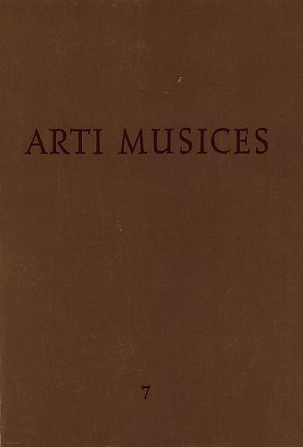 God. 7(1976) : Arti musices