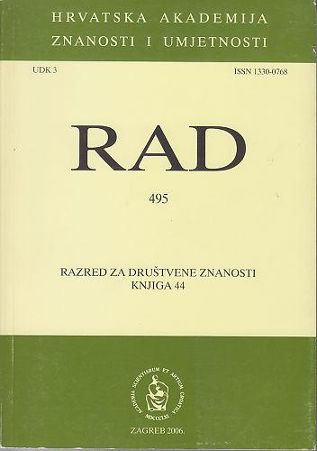 Knj. 44(2006) : RAD