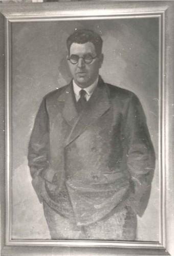 Parać, Vjekoslav (1904-2-2 1986-8-4) : Portret galerista Ede Ullricha