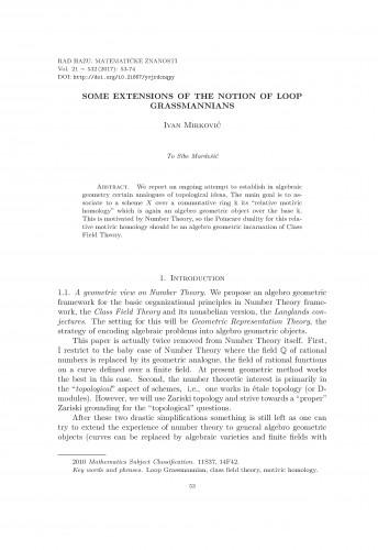 Some extensions of the notion of loop Grassmannians / Ivan Mirković