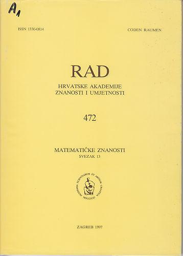Sv. 13(1997) : RAD