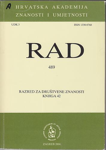Knj. 42(2004) : RAD
