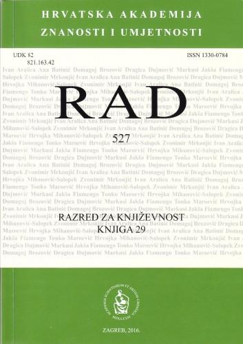 Knj. 29(2016) : RAD