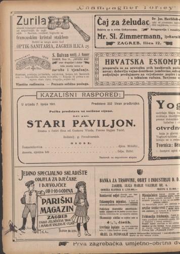 Stari paviljon : Drama u četiri čini
