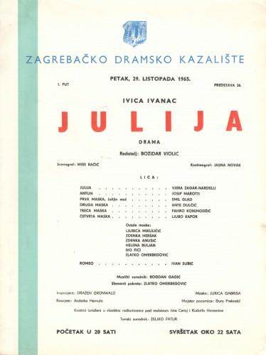 Julija : Drama