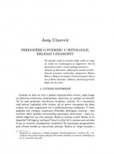 Predodžbe o svemiru u mitologiji, religiji i znanosti