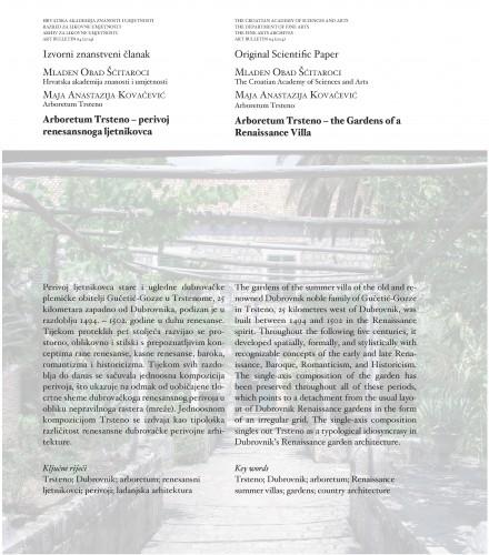 Arboretum Trsteno - perivoj renesansnoga ljetnikovca