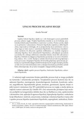 Upalni procesi selarne regije