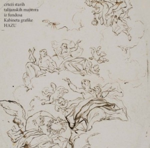 Crteži starih talijanskih majstora iz fundusa Kabineta grafike Hrvatske akademije znanosti i umjetnosti : Kabinet grafike Hrvatske akademije znanosti i umjetnosti, ožujak - travanj - svibanj 2009.