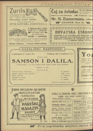 Samson i Dalila Tragikomedija u tri čina
