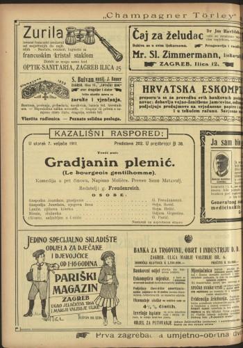 Gradjanin plemić  =  Le bourgeois gentilhomme : Komedija u pet činova