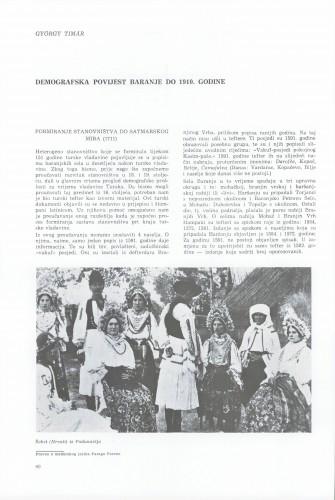 Demografska povijest Baranje do 1910. godine