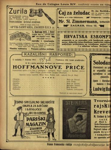 Hoffmannove priče Fantastična opera u tri čina s prologom i epilogom