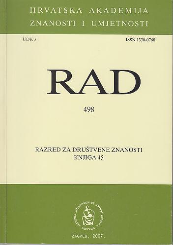 Knj. 45(2007) : RAD
