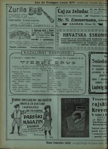 Vjerni drug ; Vera Violetta Opereta u dva čina ; Opereta u jednom činu  =  Der gute Kamerad