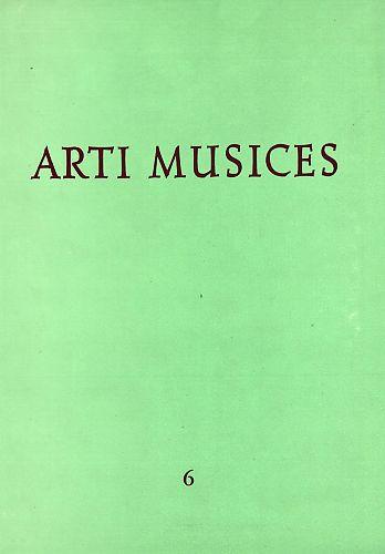 God. 6(1975) : Arti musices