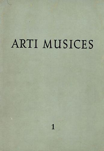God. 1(1969) : Arti musices