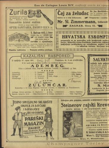 Adembeg ; Zulumćar Slika u jednom činu ; Komedija u tri čina