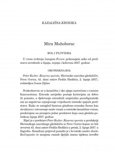 Kazališna kronika