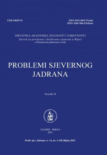 Sv. 14(2015) : Problemi sjevernog Jadrana