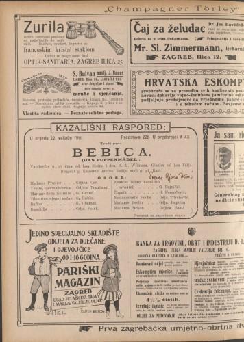 Bebica  =  Das Puppenmädel : Vaudeville u tri čina