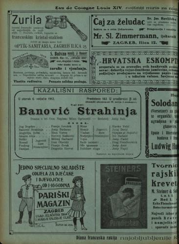 Banović Strahinja Drama u tri čina