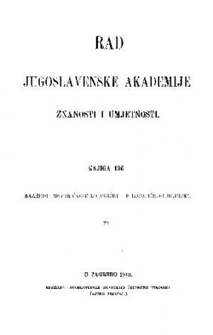 Knj. 82(1913) : RAD