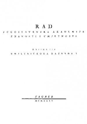 Knj. 1(1935) : RAD