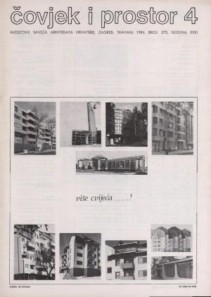 Zatišje u našoj arhitekturi : Čovjek i prostor