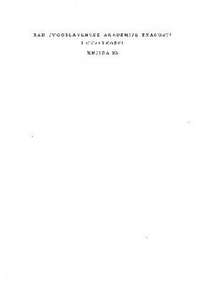 Knj. 5(1953) : RAD
