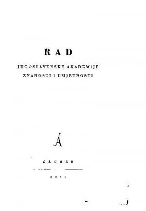 Knj. 10(1961) : RAD