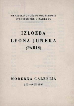 Izložba Leona Juneka (Paris)