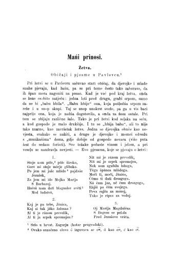 Žetva : običaji i pjesme u Pavlovcu / M. Špiljak