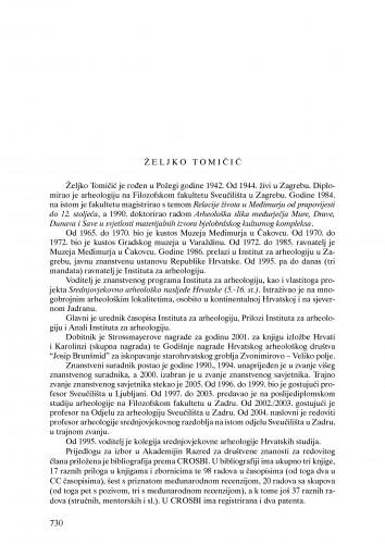 Željko Tomičić : Ljetopis