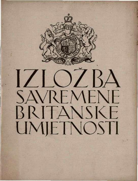 Izložba suvremene britanske umjetnosti