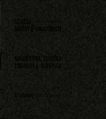Kolektivna izložba Emanuela Vidovića