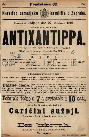 Antixantippa Vesela igra u 5 čina