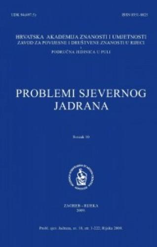 Sv. 10(2009) : Problemi sjevernog Jadrana
