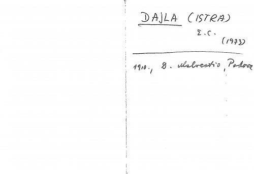Dajla (Istra) ž. c.