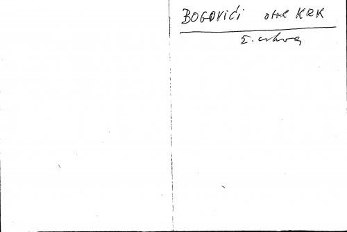 Bogovići otok Krk ž. crkva