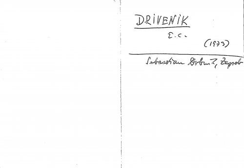 Drivenik ž. c.